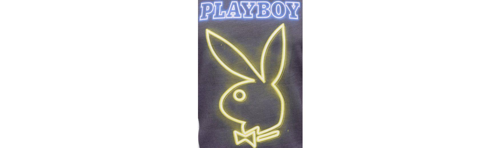 Billig Erschwinglich Playboy T-Shirt mit angesagtem Frontdruck Große Diskont Verkauf Online Günstige Kaufladen Zum Verkauf Günstig Online Billige Browse BLOxBc