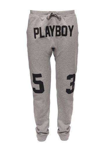 Playboy Stoffhose mit coolem Druck