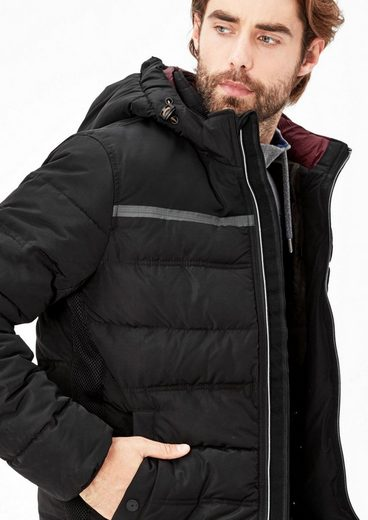 s.Oliver RED LABEL Winterjacke mit funktionalen Details