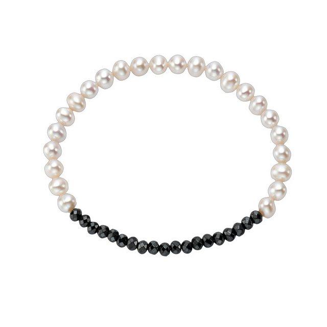Vivance Perlen-Armband »925/- Sterling Silber mit Hämatit«   Schmuck > Armbänder > Perlenarmbänder   Vivance