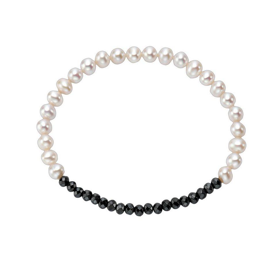 Vivance Perlen Armband 925 Sterling Silber Mit Hämatit Online Kaufen Otto