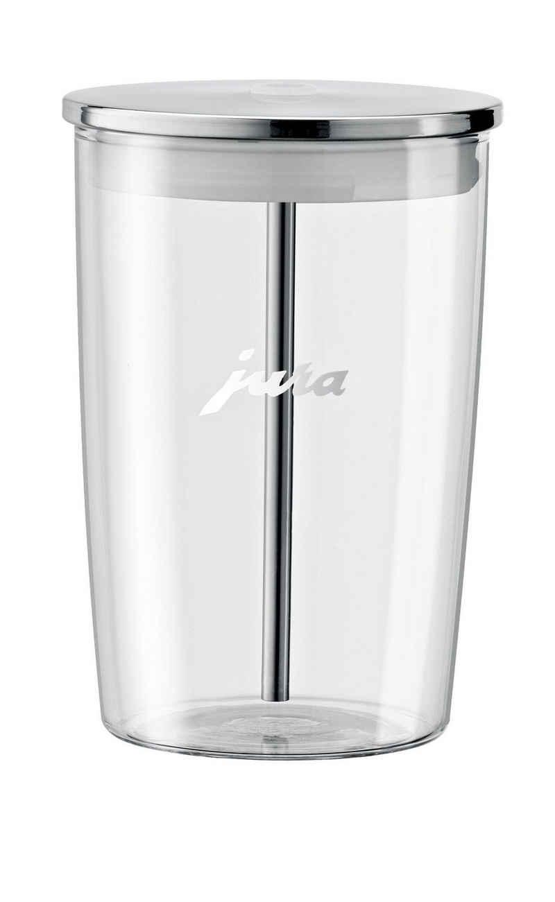 JURA Milchbehälter aus Glas, Zubehör für alle JURA-Vollautomaten, durchsichtig