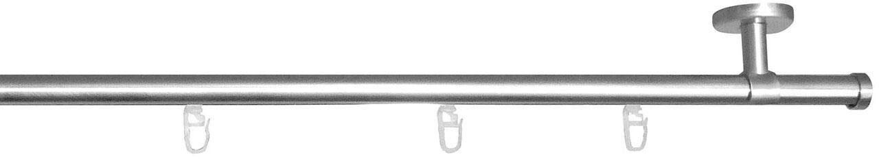 Gardinenstange, indeko, »Consul«, mit Innenlauf, nach Maß, Ø 20 mm,mit Deckenträger
