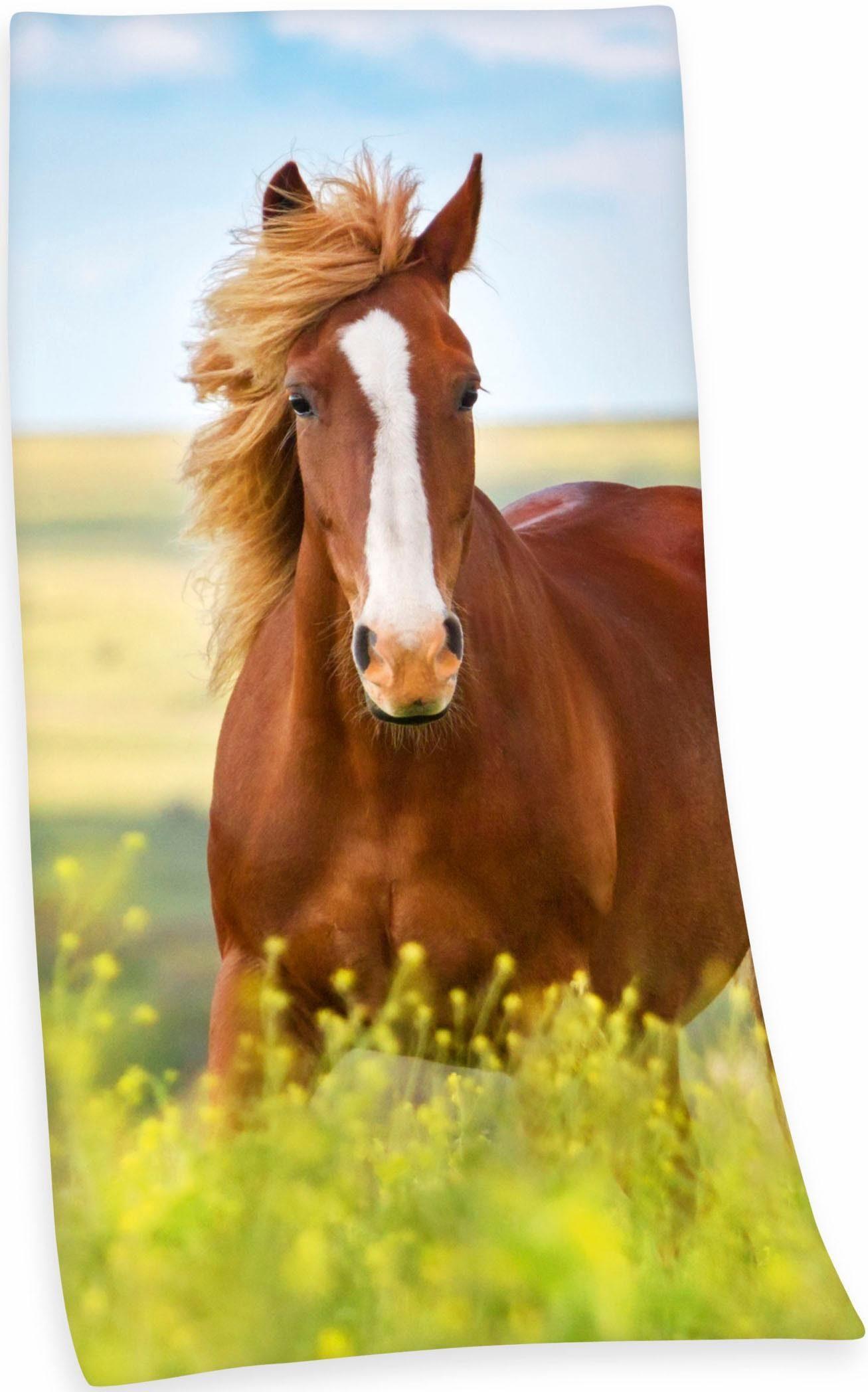 Badetuch »Pferd«, Herding, mit Pferdemotiv