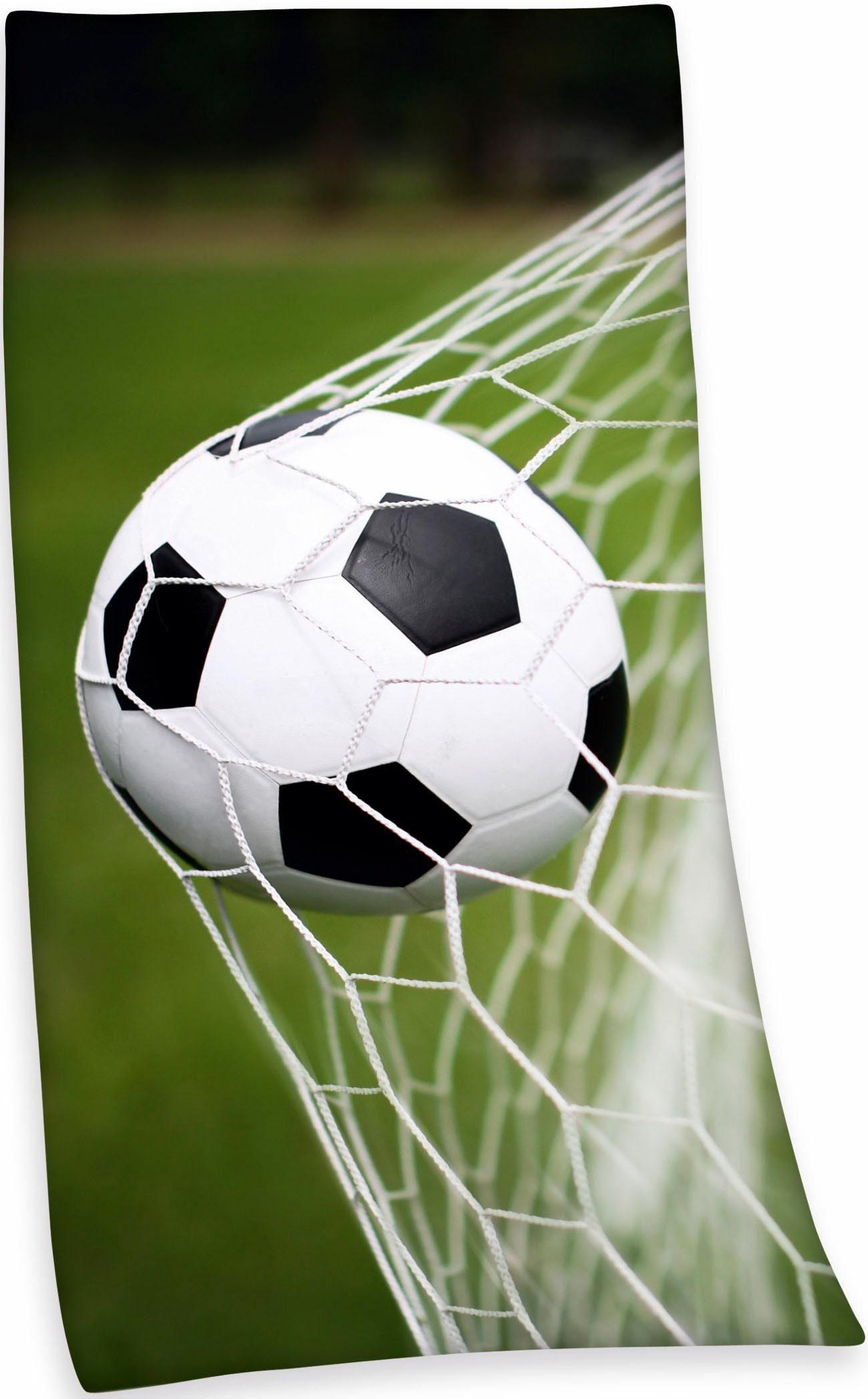Badetuch »Fußball«, Herding, mit Fußballmotiv