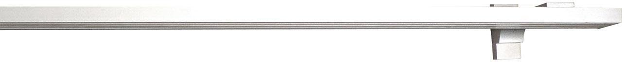 Gardinenschiene, indeko, »Alu-Flächenschiene«, 3-läufig nach Maß