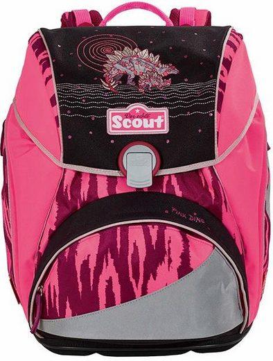 Scout Schulranzen »Alpha, Pink Dino«