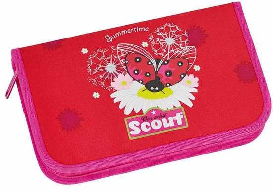 Scout Federtasche »Summertime«, (Set, 23-tlg)