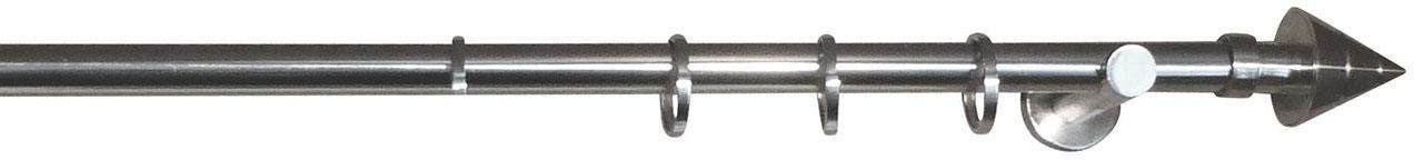 Gardinenstange, indeko, »Spitze«, 1-läufig, nach Maß, Ø 25 mm