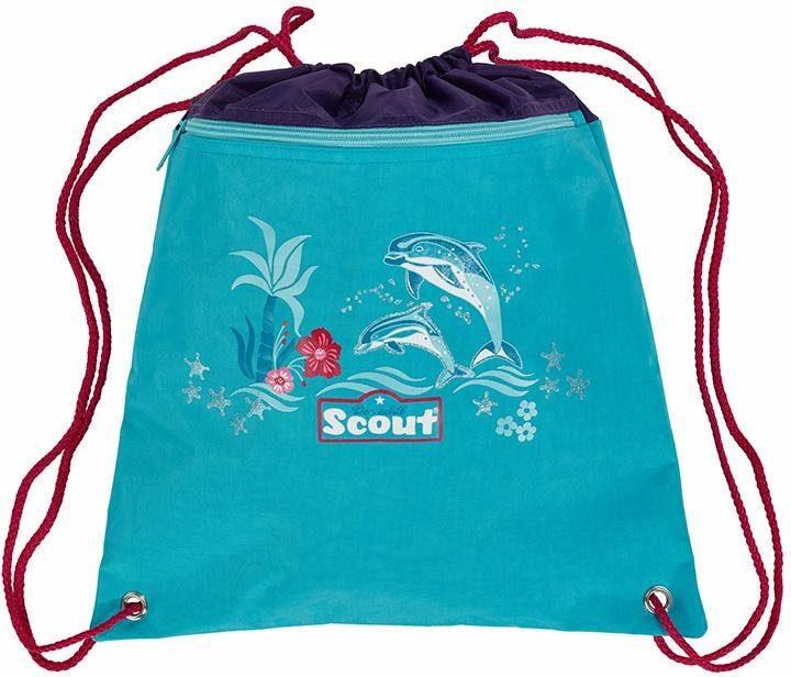Scout Sportbeutel, »Happy Dolphins«