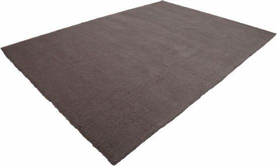 Teppich »Velluto 400«, LALEE, rechteckig, Höhe 17 mm, Besonders weich durch Microfaser