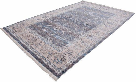 Teppich »Vintage 700«, LALEE, rechteckig, Höhe 7 mm, Besonders weich durch Microfaser