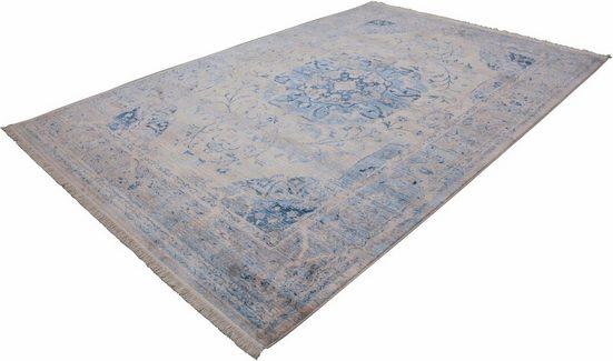 Teppich »Vintage 701«, LALEE, rechteckig, Höhe 7 mm, Besonders weich durch Microfaser