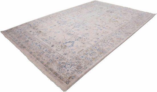Teppich »Vintage 702«, LALEE, rechteckig, Höhe 7 mm, Besonders weich durch Microfaser