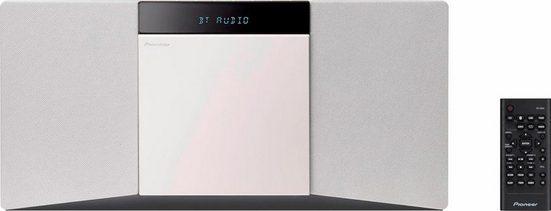 Pioneer »X-SMC02D« Stereoanlage (20 W, Bluetooth, Digitalradio (DAB), RDS)