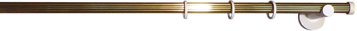 Gardinenstange, indeko, »Consul«, 1-läufig, nach Maß, Ø 20 mm