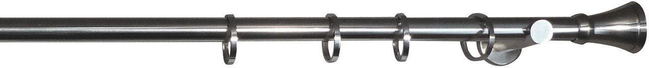 Gardinenstange, indeko, »Malle«, 1-läufig, nach Maß, Ø 25 mm