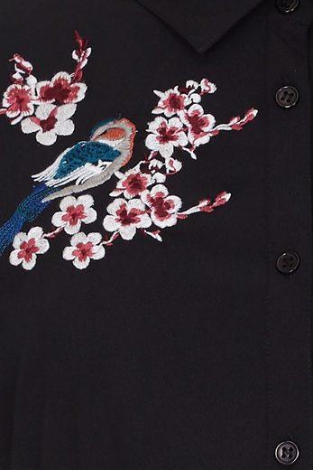 Yumi Shirtkleid Aria, Mit Stickerei