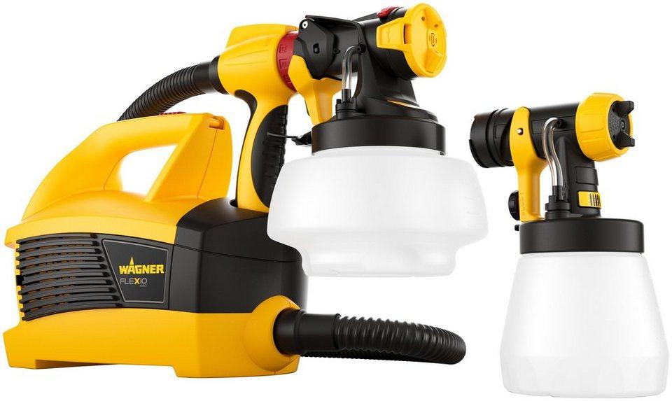 wagner farbspr hsystem universal sprayer w 690 flexio inklusive 2 beh lter online kaufen otto. Black Bedroom Furniture Sets. Home Design Ideas