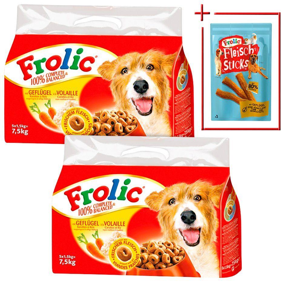 Frolic Set: Hundetrockenfutter »Complete & Balanced Mix «, 2 Pakete á 7,5 kg