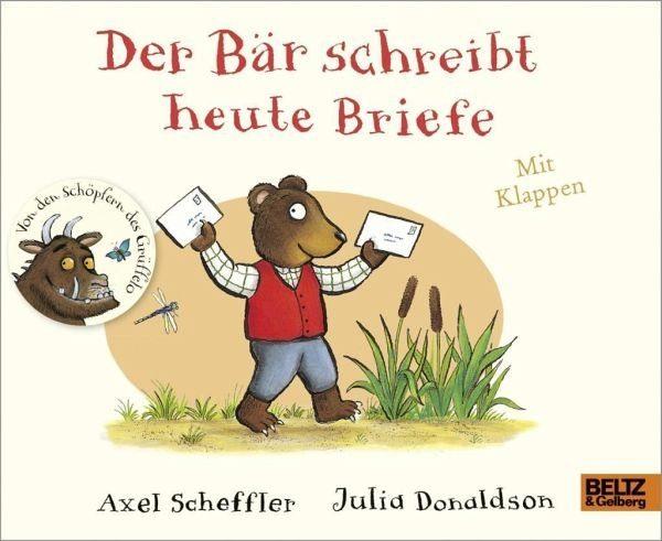 Buch mit Papp-Einband »Der Bär schreibt heute Briefe«