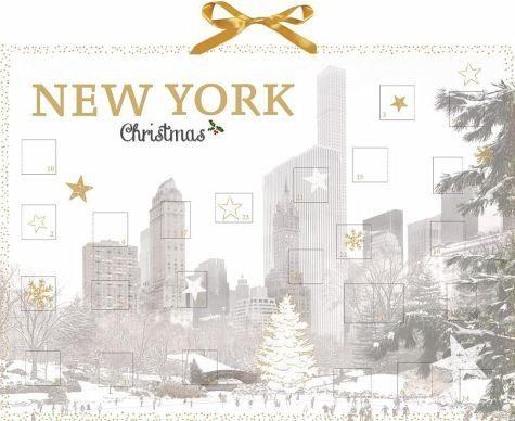 Kalender »Wand-Adventskalender - New York Christmas«