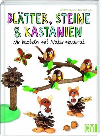 Gebundenes Buch »Blätter, Steine & Kastanien«