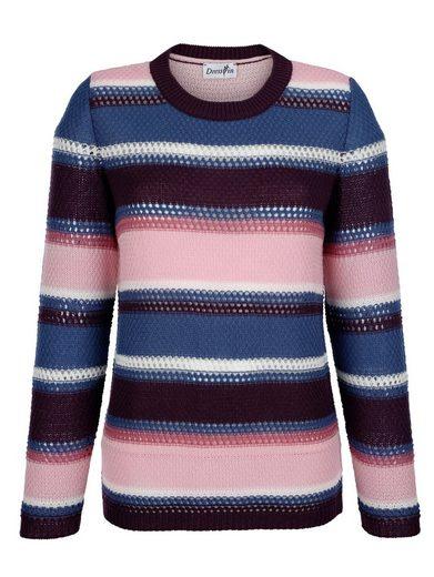 Dress In Pullover mit Lochmuster