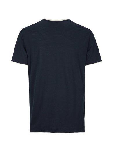 Super.Natural Merino T-Shirt M COMFORT RINGER TEE