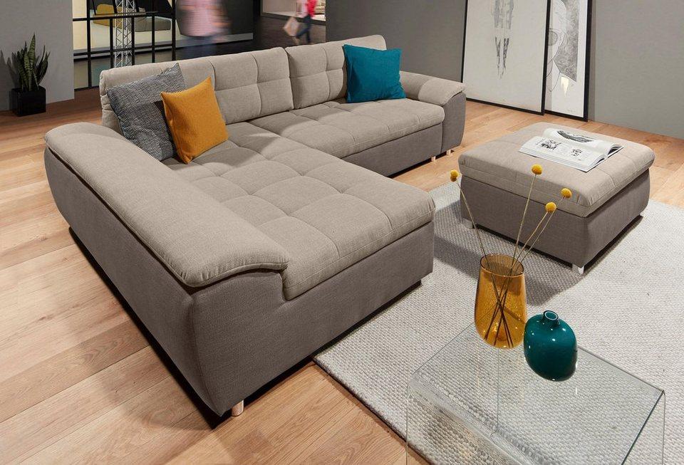 Sit&more Polsterecke XL Mit Bettfunktion Und Bettkasten