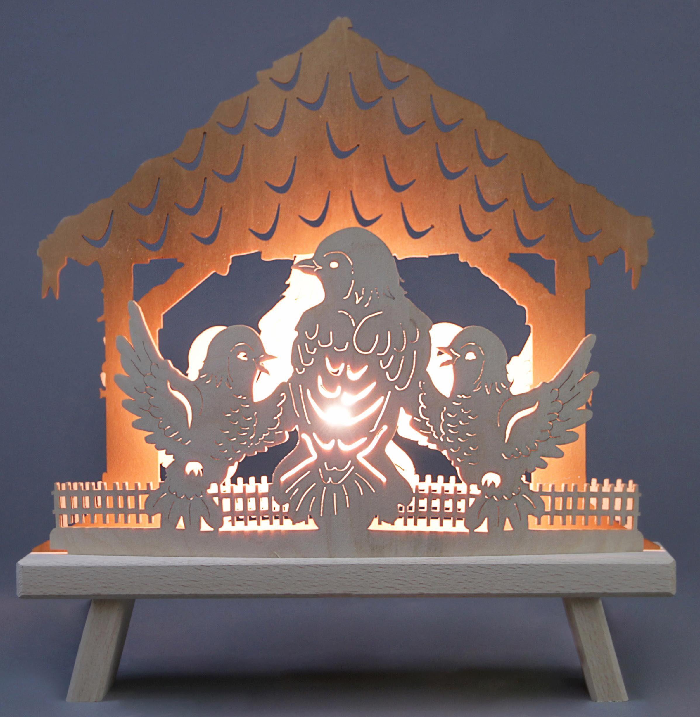 Weigla Lichterbogen »Vogelhaus«