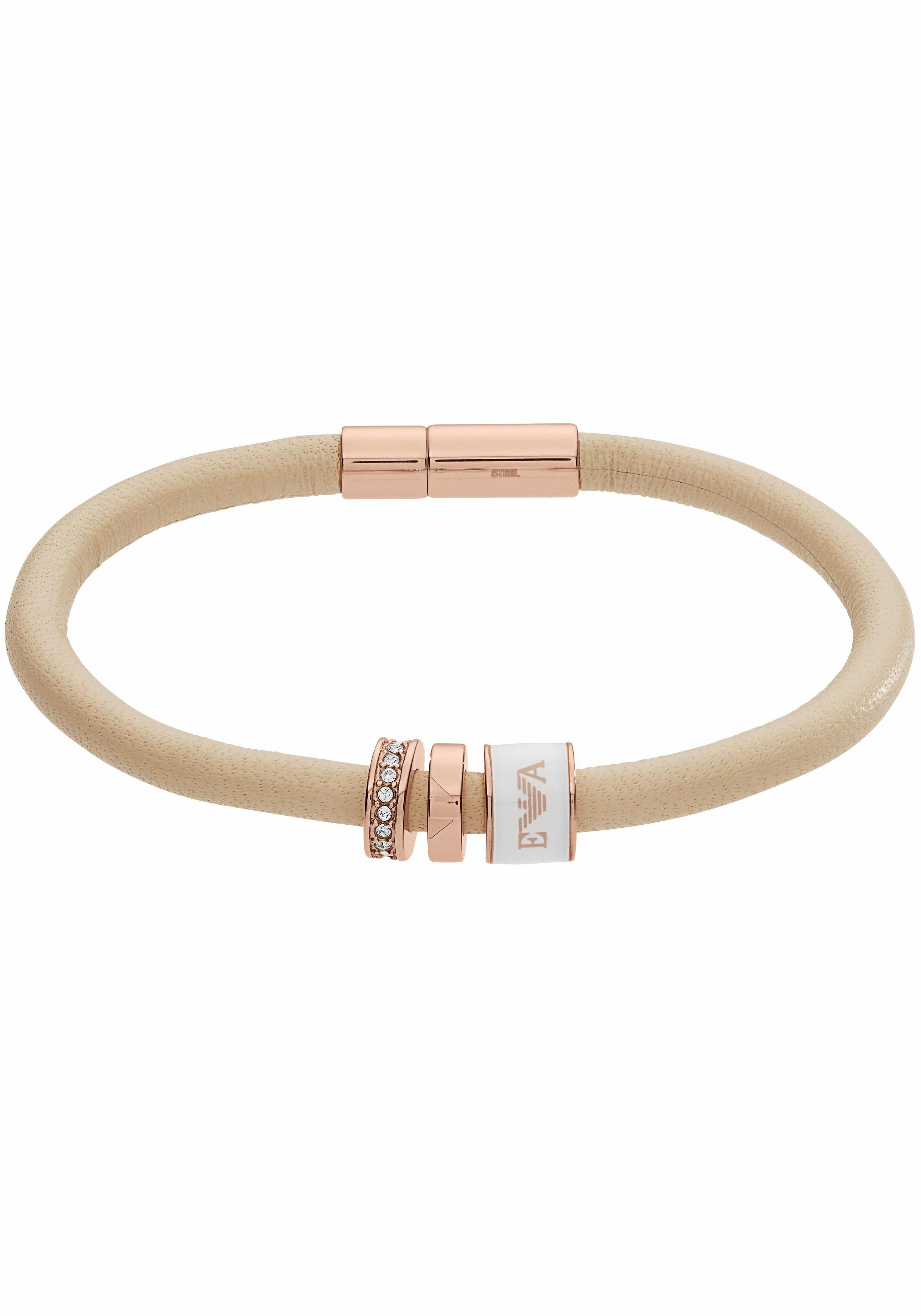 Emporio Armani Armband »EGS2419221« mit Emaille und Glassteinen