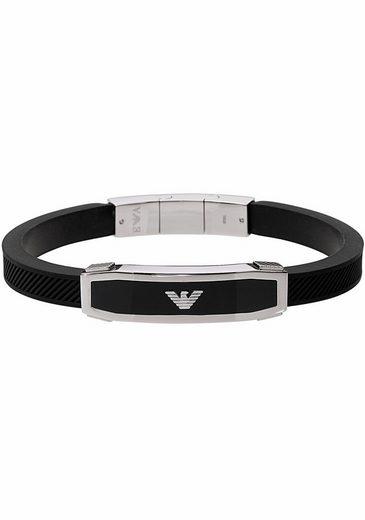 Emporio Armani Armband »EGS1543040« mit Onyx