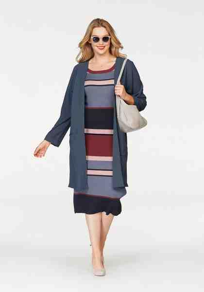 Zizzi Cardigan »Carla«, im Kimono Style