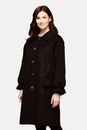 Yumi Winter Coat Marwa, With Gathered Sleeves