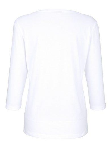 Dress In Shirt mit platziertem Druck