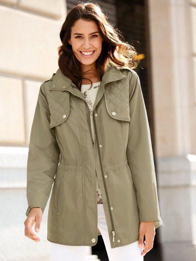 Dress In Jacke in leicht glänzender Qualität