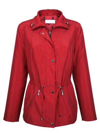 Dress In Jacke mit Umlegekragen sowie Kordelzug und Stopper