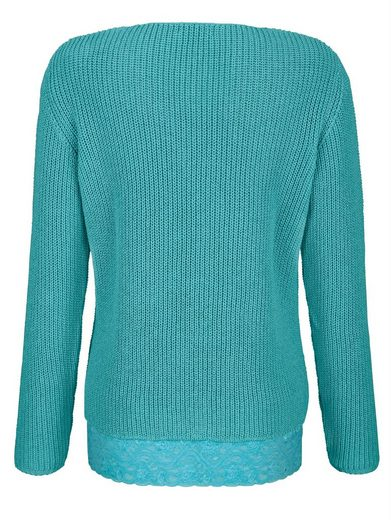 Dress In Pullover mit Baumwolle