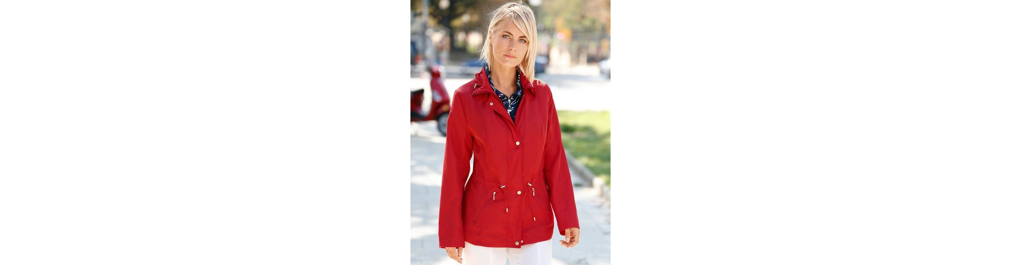 Dress In Jacke mit Umlegekragen sowie Kordelzug und Stopper Rabatt Angebote ldnnAGM