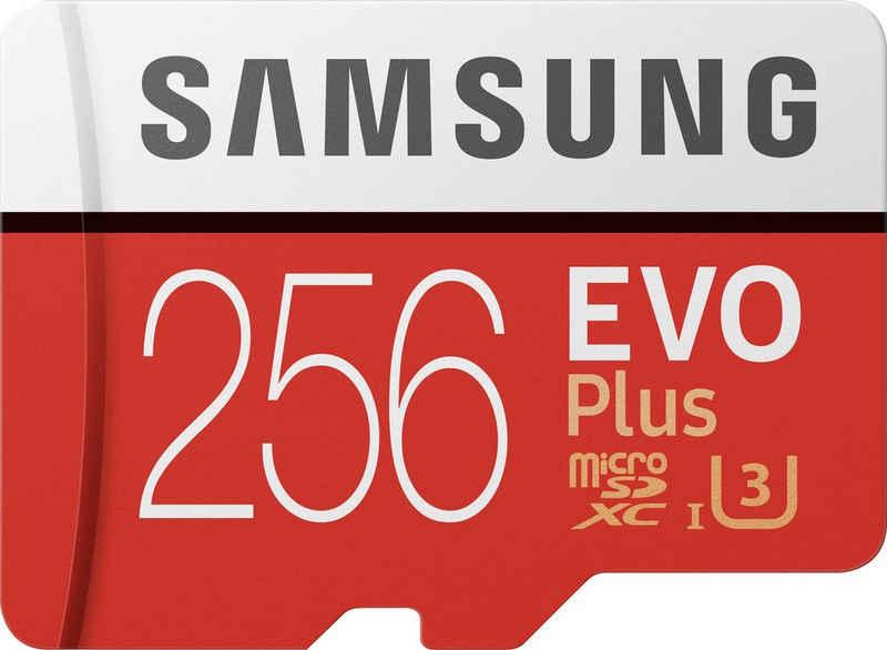 Samsung »EVO Plus 2020 microSD« Speicherkarte (256 GB, UHS Class 3, 100 MB/s Lesegeschwindigkeit)