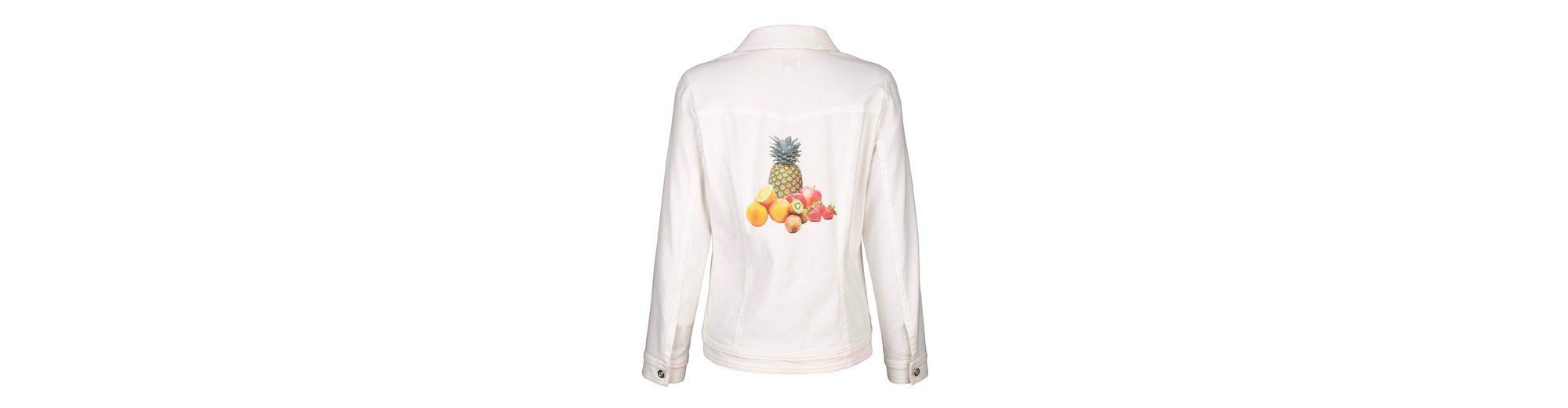 Dress In Jeansjacke mit Früchtedruck Geniue Händler Günstiger Preis Steckdose Echte Verkauf Rabatte Rabatt Vorbestellen Echt Günstig Online ky6O1nJj1