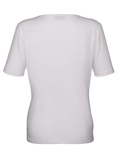 Dress In Shirt mit Strasssteinchenmotiv