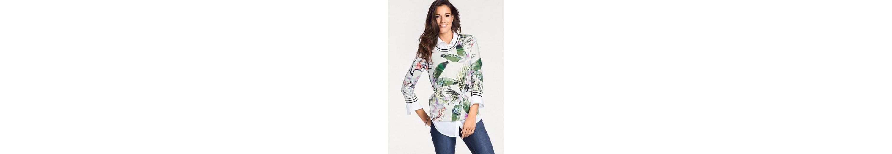 4 3 Sweatshirt by 3 PATRIZIA DINI DINI Heine PATRIZIA Heine by Sweatshirt Arm 4 1qF7fnCw