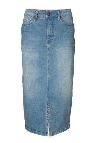 CASUAL юбка джинсовая в модный Midil&a...