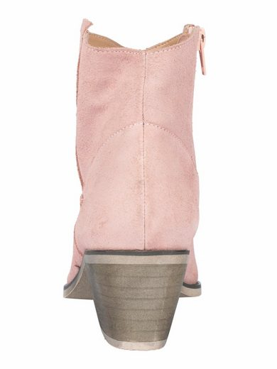Andrea Conti Ankle Boot With Embroidery