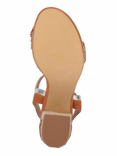 XYXYX Sandalette mit besticktem Absatz