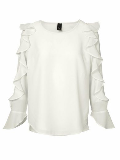 Bc Best Connections By Heine Frilly Blouse With Round Neck