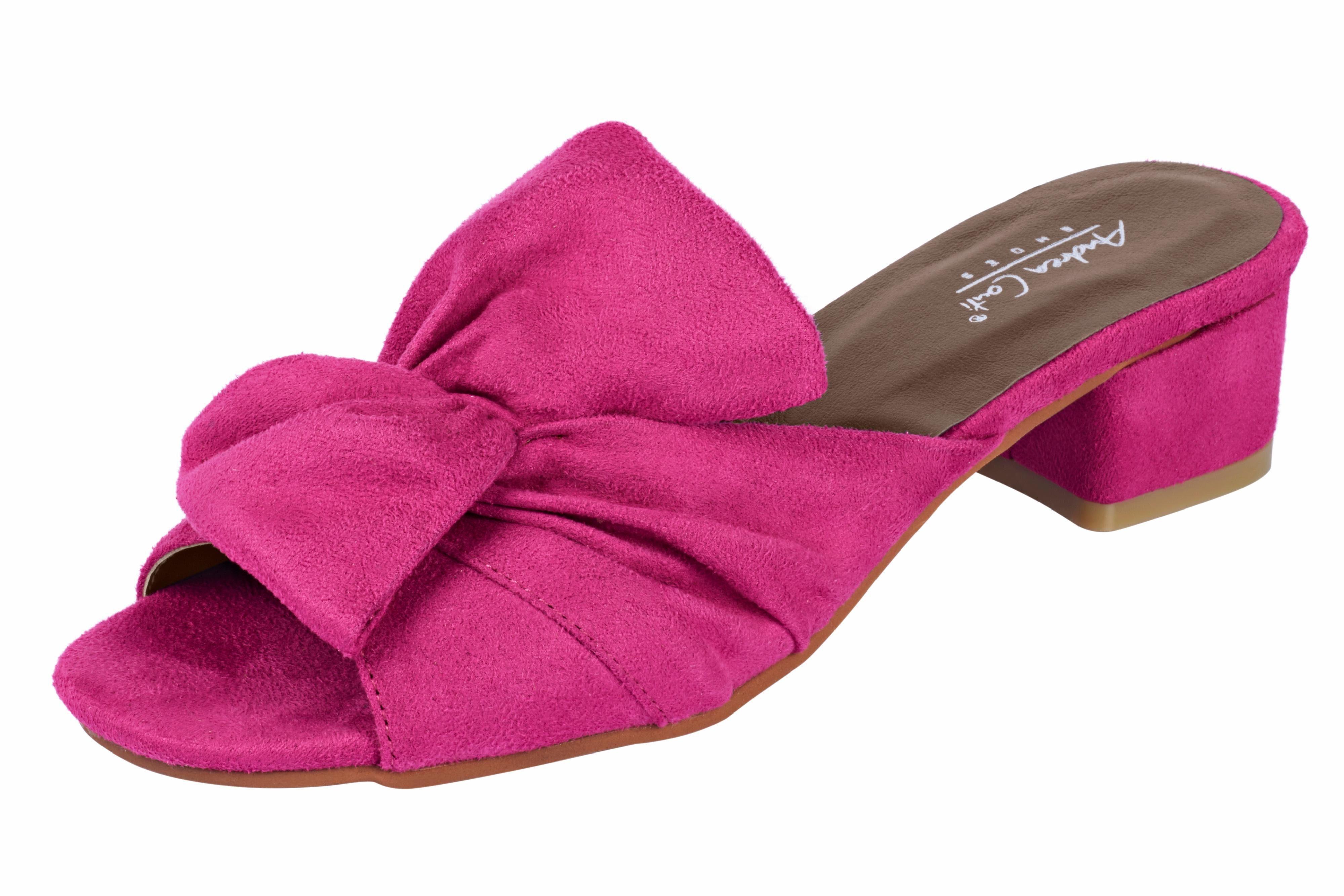 Andrea Conti Pantolette online kaufen  pink