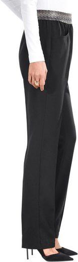 Classic Basics Hose mit streckenden Bügelfalte